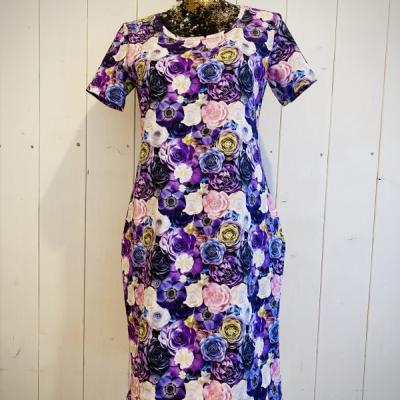 Šaty kvety