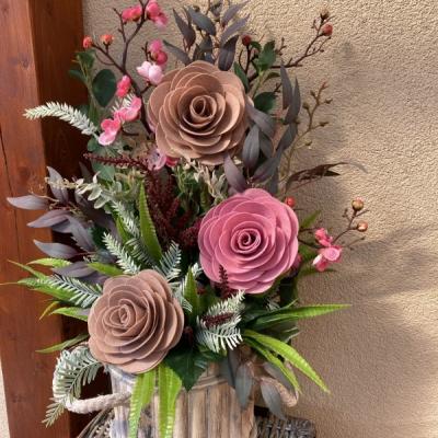 Aranžmán Maxi ruže