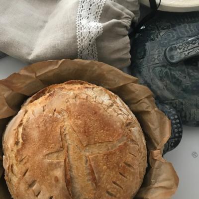 Forma na pečenie (nielen) chleba okrúhla