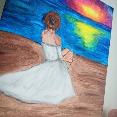 Maľba acrylom