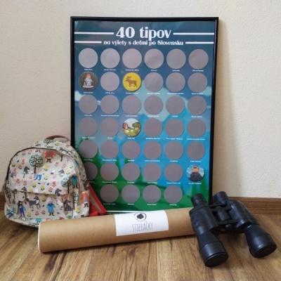 Stieracie plagáty: Tipy na výlety s deťmi po Slovensku