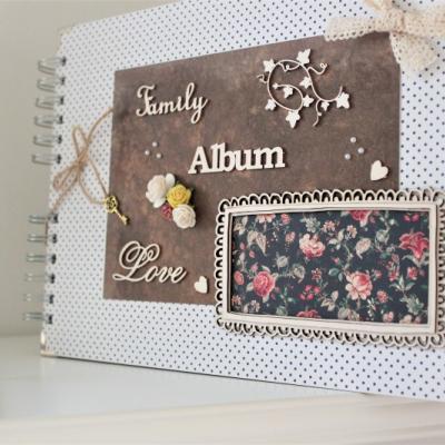 Veselý rodinný fotoalbum