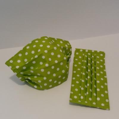 Bavlnené rúško - Zelené