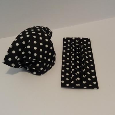 Bavlnené rúško - Čierne