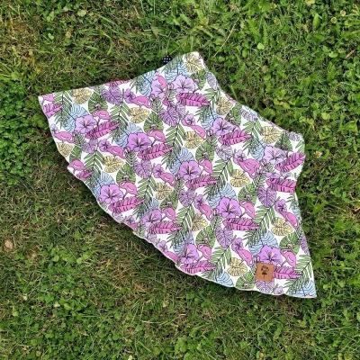 Kúzelná sukňa za super cenu - vzor Monstera (veľ. 110 - 140)