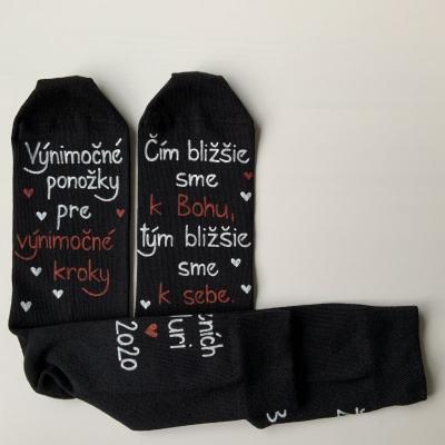 Maľované ponožky pre ženícha 2