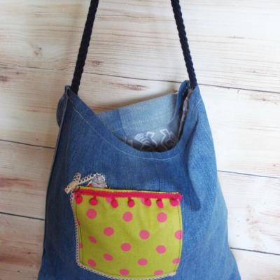 Riflová taška - rozmarná bodka