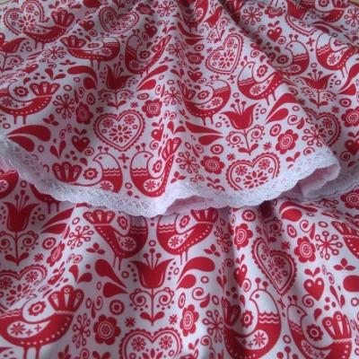 Sukienka červená