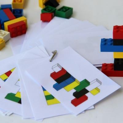 3D lego návrhy