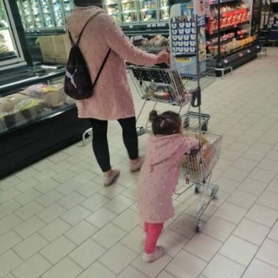 Strikovane setiky maminky a deti