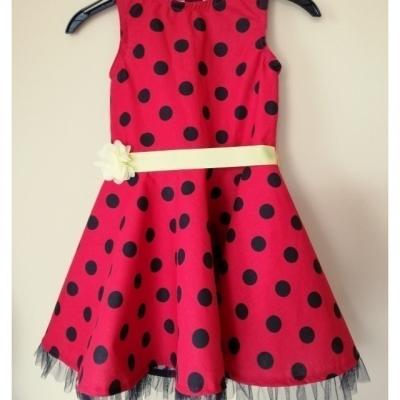 Šaty Lienka pre malé Tanculienky