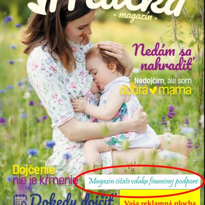 Reklama na titulke magazínu