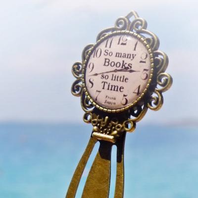 záložka So many books, so little time