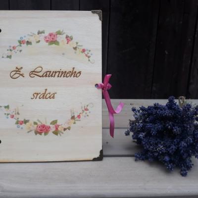 Zápisník / diár / kvety