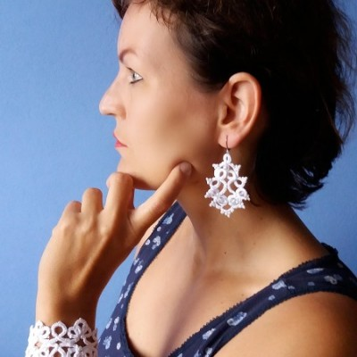 Sada šperkov z čipky