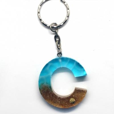 Kľúčenka s tematikou mora - C