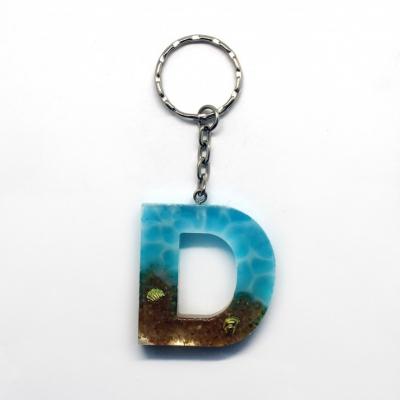 Kľúčenka s tematikou mora - D