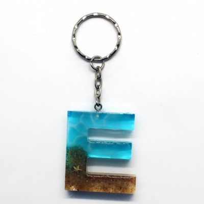 Kľúčenka s tematikou mora - E