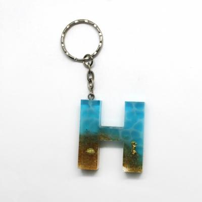 Kľúčenka s tematikou mora - H