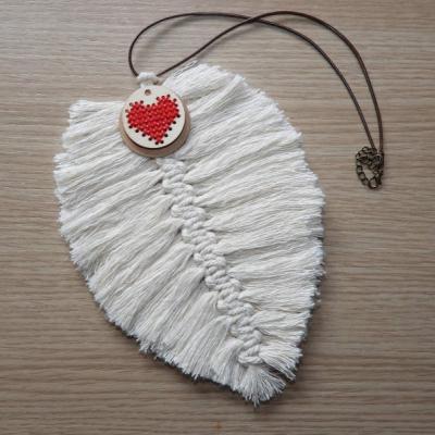 Boho loves folk náhrdelník