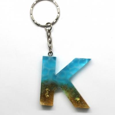 Kľúčenka s tematikou mora - K