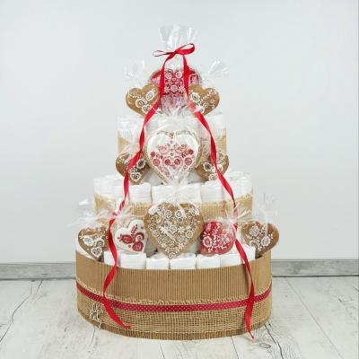 Plienková torta medovníková