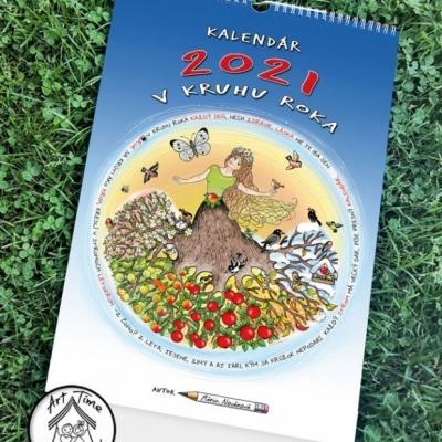 Nástenný kalendár V KRUHU ROKA  2021 pre deti a rodiny s deťmi