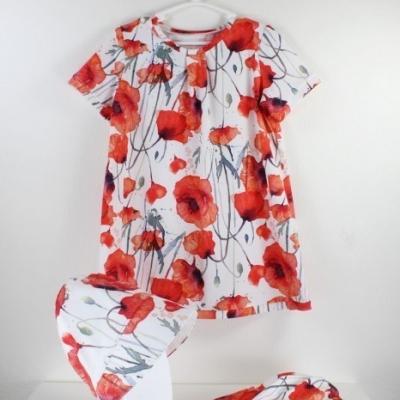 Detské šaty VLČIE MAKY