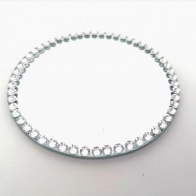 Prenájom - Zrkadlový podnos pod sviečku 10 cm