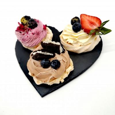 Prenájom - Servírovací tanier srdce