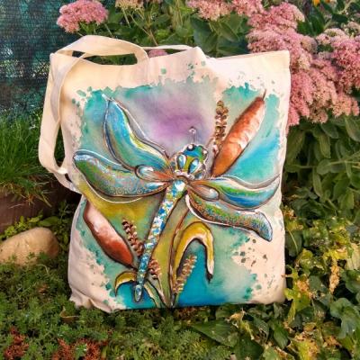 Maľovaná taška vážka