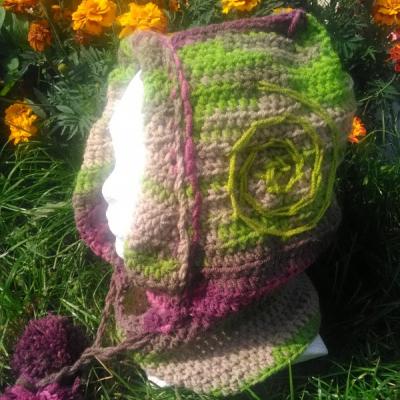 kapucňa - čiapka s nákrčníkom