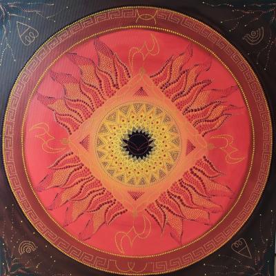 Mandala 100x100