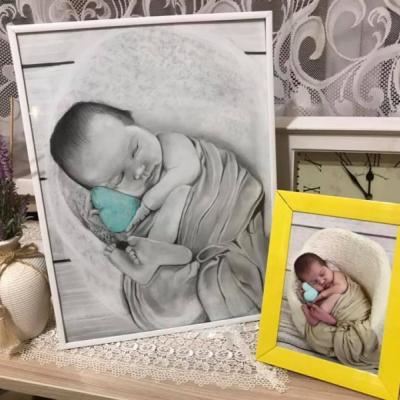 Portrét bábätka A3
