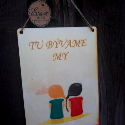 Menovka - Tu bývame My