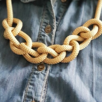 Lanový náhrdelník