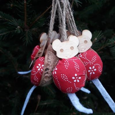 vianočné oriešky - myšky