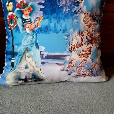 Vianočný dekoračný vankúš