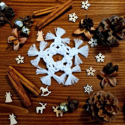 Vianočné ozdoby - vločka (malá)