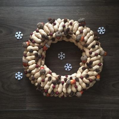 Vianočný orechový veniec