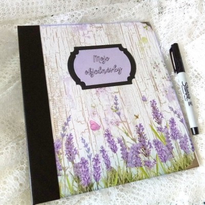 Objednávkovník- zápisník na objednávky
