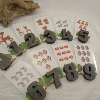 Čísla - zvieratká
