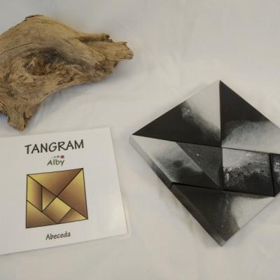 Tangram - abeceda