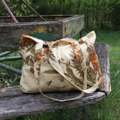 Nákupná taška - kvety