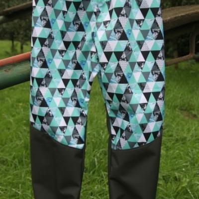 Softshellové nohavice - astronaut / na objednávku