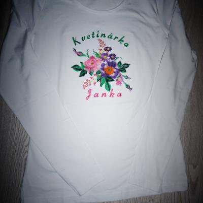 Kvetinárka Janka, dlhý rukáv