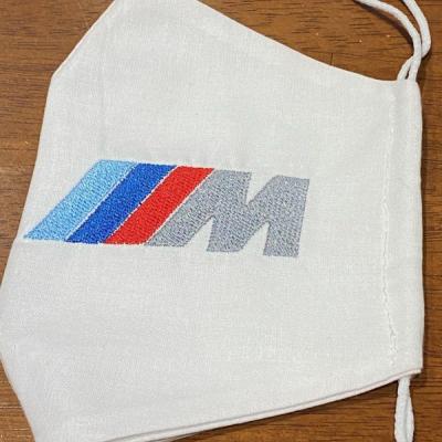 Rúško BMV M biele