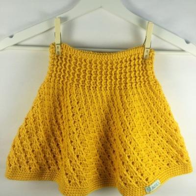 Sukňa žltá
