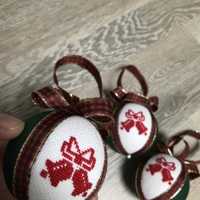 Vianočné guľky ZVONY