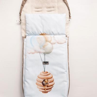 Zimná fusak do športového kočíka - Úľ a balóny
